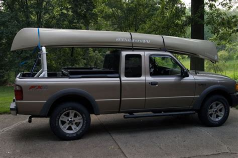 Diy Truck Bed Canoe Rack