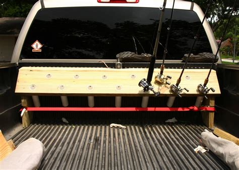 Diy Truck Bed Rod Rack
