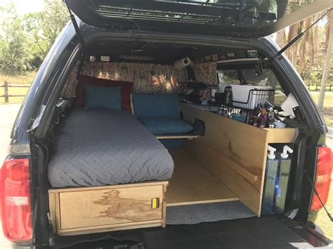 Diy Truck Bed Sleeping Platform