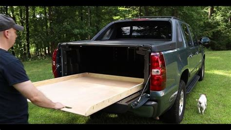 Diy Truck Bed Slide Out Rails For Cabinets