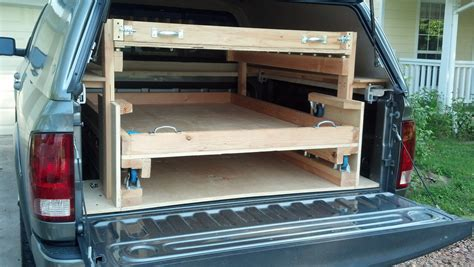 Diy Truck Bed Slide With Drawers