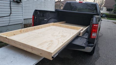 Diy Truck Bed Slider With Caster