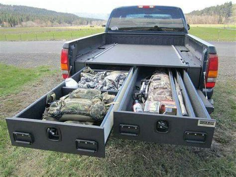 Diy Truck Bed Storage Compartments