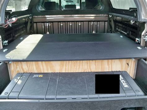 Diy Truck Bed Storage System Youtube