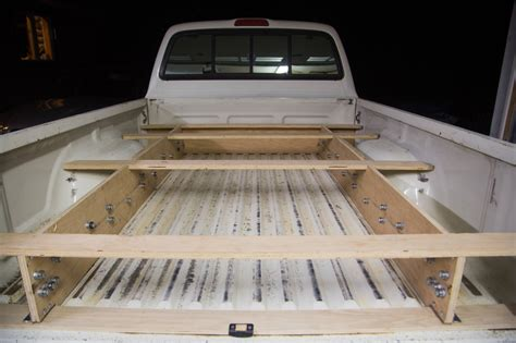 Diy Truck Bed Storage Systems Made From Pvc