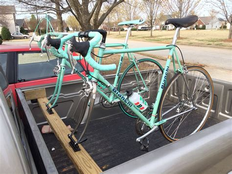 Diy Truck Box Bike Rack