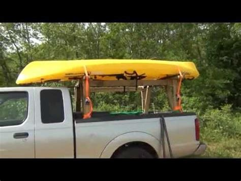 Diy Truck Rack For Tundra Youtube