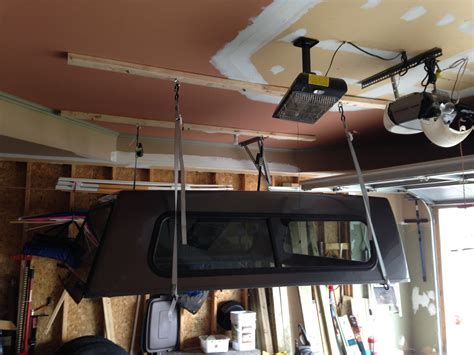 Diy Truck Topper Storage Garage