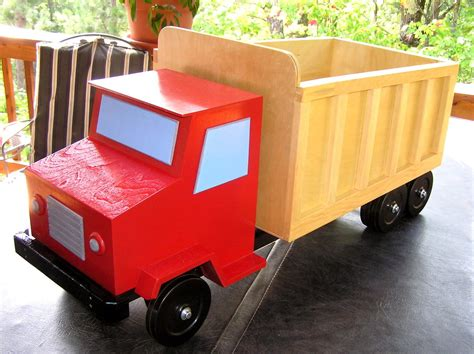 Diy Truck Toy Box