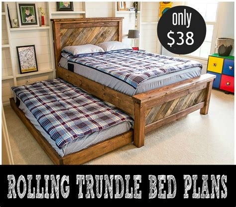 Diy Trundle Bed Plans
