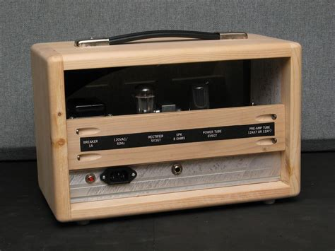 Diy Tube Guitar Amp Head