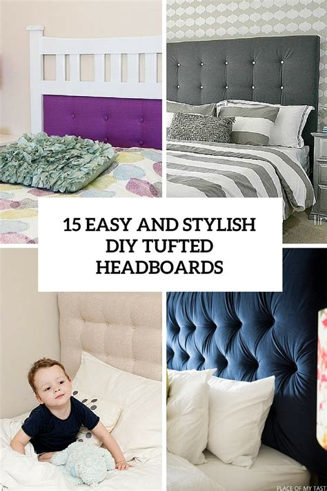 Diy Tufted Headboard Easy