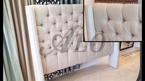 Diy Tufted Headboard Wings