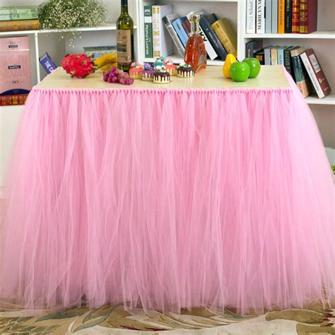 Diy Tulle Table Skirt Cost