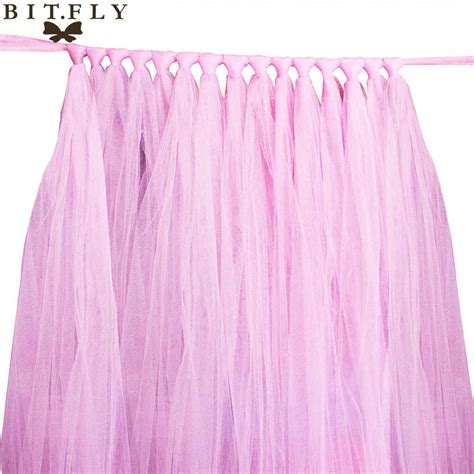 Diy Tulle Table Skirts