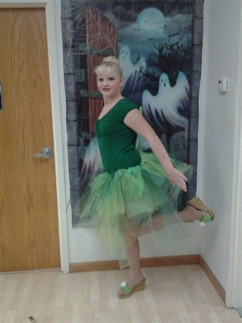 Diy Tulle Tinkerbell Costume