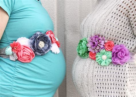 Diy Tutorial Baby Bump Sash