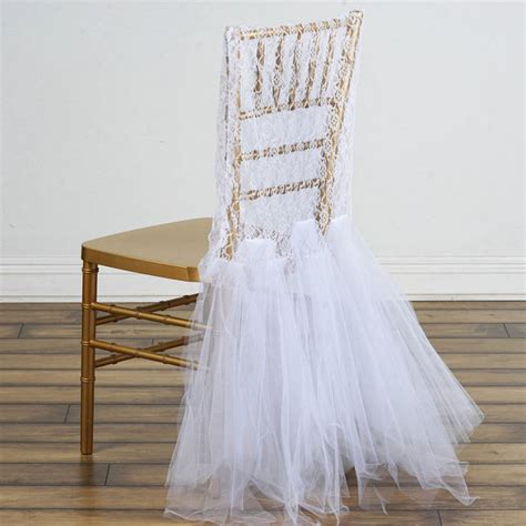 Diy Tutu Chair Covers