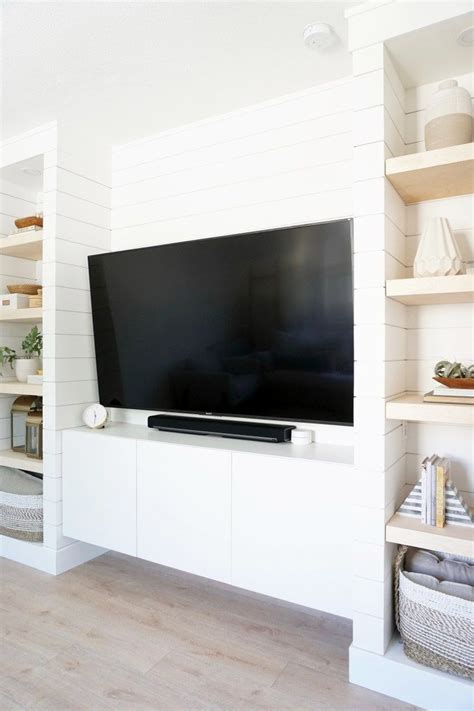 Diy Tv Built In Wall