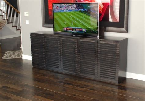 Diy Tv Cabinet With Lift