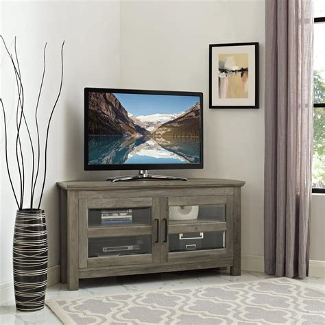 Diy Tv Console Cabinet Grey Wash