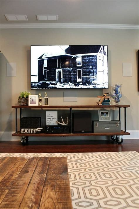 Diy Tv Console Table Industrial