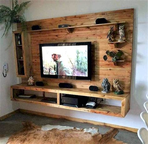 Diy Tv Rack Pallet Outdoor Furniture