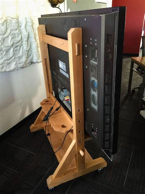 Diy Tv Stand Fold Down