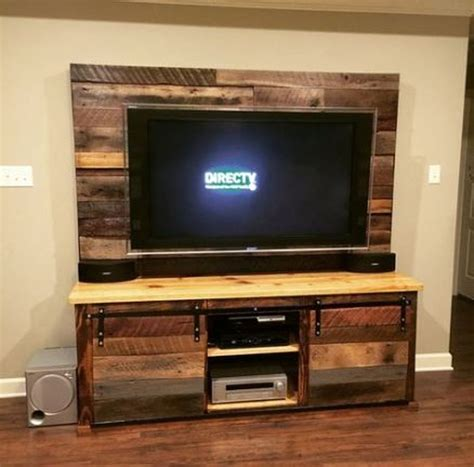 Diy Tv Stand Ideas From Pallets