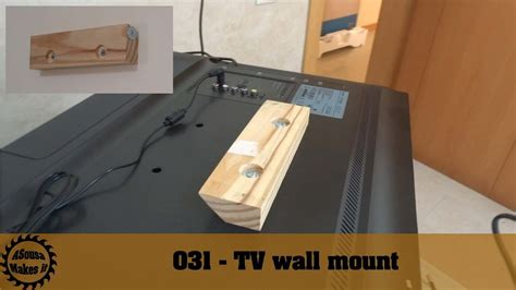 Diy Tv Wall Mount Bracket