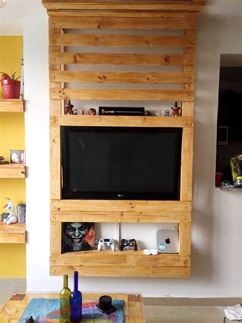 Diy Tv Wall Mount Plan Se De Color At Un