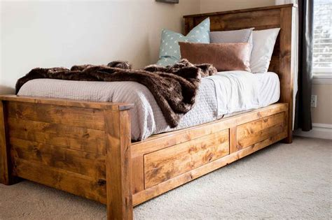 Diy Twin Bed Frame Easy Assemble