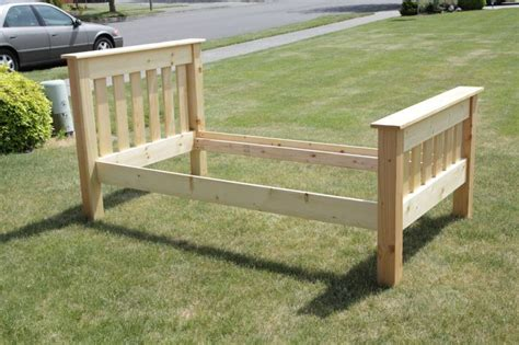 Diy Twin Bed Frame Easy Plans For Building