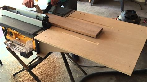 Diy Tyler Outfeed Table For Table Saw