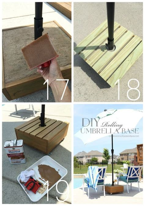 Diy Umbrella Stand Weights For Kids
