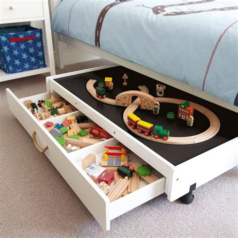 Diy Under Bed Lego Storage Table