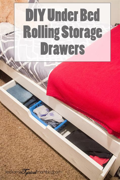 Diy Under Bed Storage Youtube