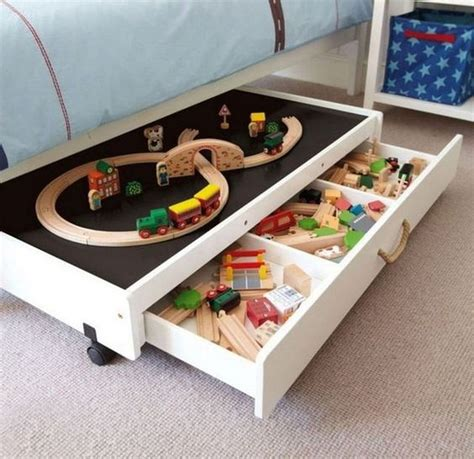 Diy Under Bunk Storage For Toy