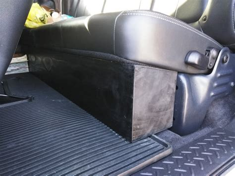 Diy Under Seat Storage Ford F150