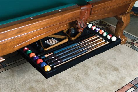 Diy Under Table Cue Rack