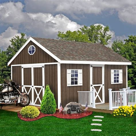 Diy Utility Shed Kits At Lowes