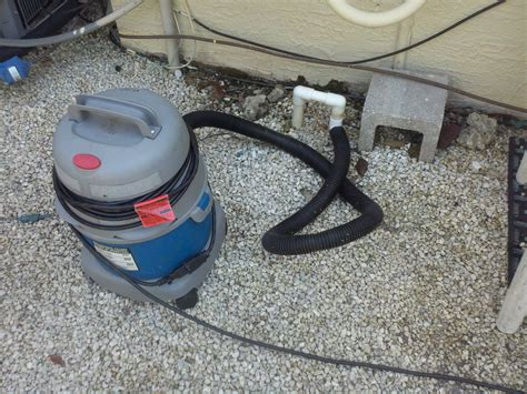 Diy Vac Attachment For Ac Condensation