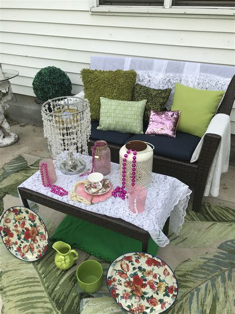 Diy Vacuum Glamping Table Decor