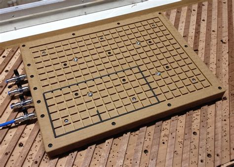 Diy Vacuum Table For Cnc Router