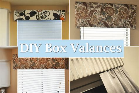 Diy Valance Boxes