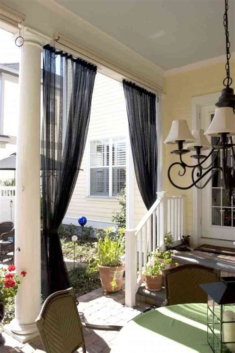 Diy Valance Ideas For A Screened In Porch