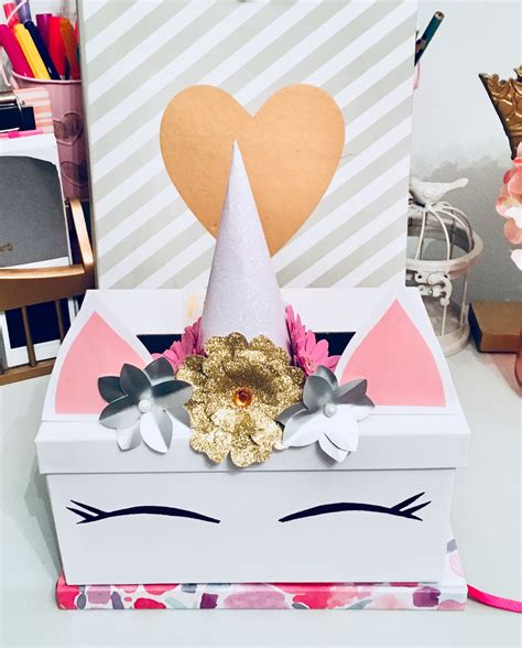 Diy Valentines Unicorn Box