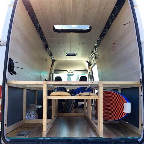 Diy Van Bed And Storage