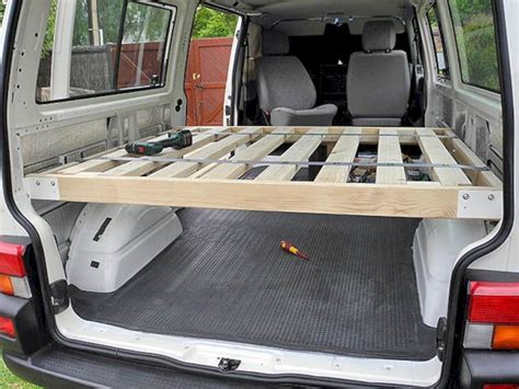 Diy Van Bed Frame Ideas