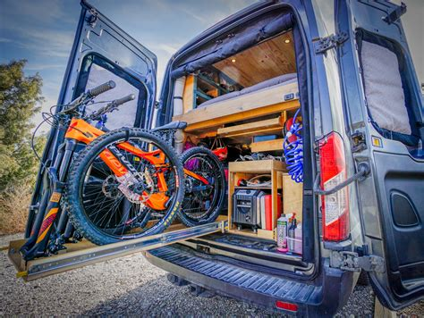 Diy Van Bike Rack